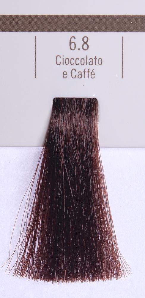BAREX 6.8 краска для волос / PERMESSE 100млКраски<br>Оттенок: Кофе и Шоколад. Профессиональная крем-краска Permesse отличается низким содержанием аммиака - от 1 до 1,5%. Обеспечивает блестящий и натуральный косметический цвет, 100% покрытие седых волос, идеальное осветление, стойкость и насыщенность цвета до следующего окрашивания. Комплекс сертифицированных органических пептидов M4, входящих в состав, действует с момента нанесения, увлажняя волосы, придавая им прочность и защиту. Пептиды избирательно оседают в самых поврежденных участках волоса, восстанавливая и защищая их. Масло карите оказывает смягчающее и успокаивающее действие. Комплекс пептидов и масло карите стимулируют проникновение пигментов вглубь структуры волоса, придавая им здоровый вид, блеск и долговечность косметическому цвету. Активные ингредиенты:&amp;nbsp;Сертифицированные органические пептиды М4 - пептиды овса, бразильского ореха, сои и пшеницы, объединенные в полифункциональный комплекс, придающий прочность окрашенным волосам, увлажняющий и защищающий их. Сертифицированное органическое масло карите (масло ши) - богато жирными кислотами, экстрагируется из ореха африканского дерева карите. Оказывает смягчающий и целебный эффект на кожу и волосы, широко применяется в косметической индустрии. Масло карите защищает волосы от неблагоприятного воздействия внешней среды, интенсивно увлажняет кожу и волосы, т.к. обладает высокой степенью абсорбции, не забивает поры. Способ применения:&amp;nbsp;Крем-краска готовится в смеси с Молочком-оксигентом Permesse 10/20/30/40 объемов в соотношении 1:1 (например, 50 мл крем-краски + 50 мл молочка-оксигента). Молочко-оксигент работает в сочетании с крем-краской и гарантирует идеальное проявление краски. Тюбик крем-краски Permesse содержит 100 мл продукта, количество, достаточное для 2 полных нанесений. Всегда надевайте подходящие специальные перчатки перед подготовкой и нанесением краски. Подготавливайте смесь крем-краски и молочка-оксигента Permesse в неметаллическ