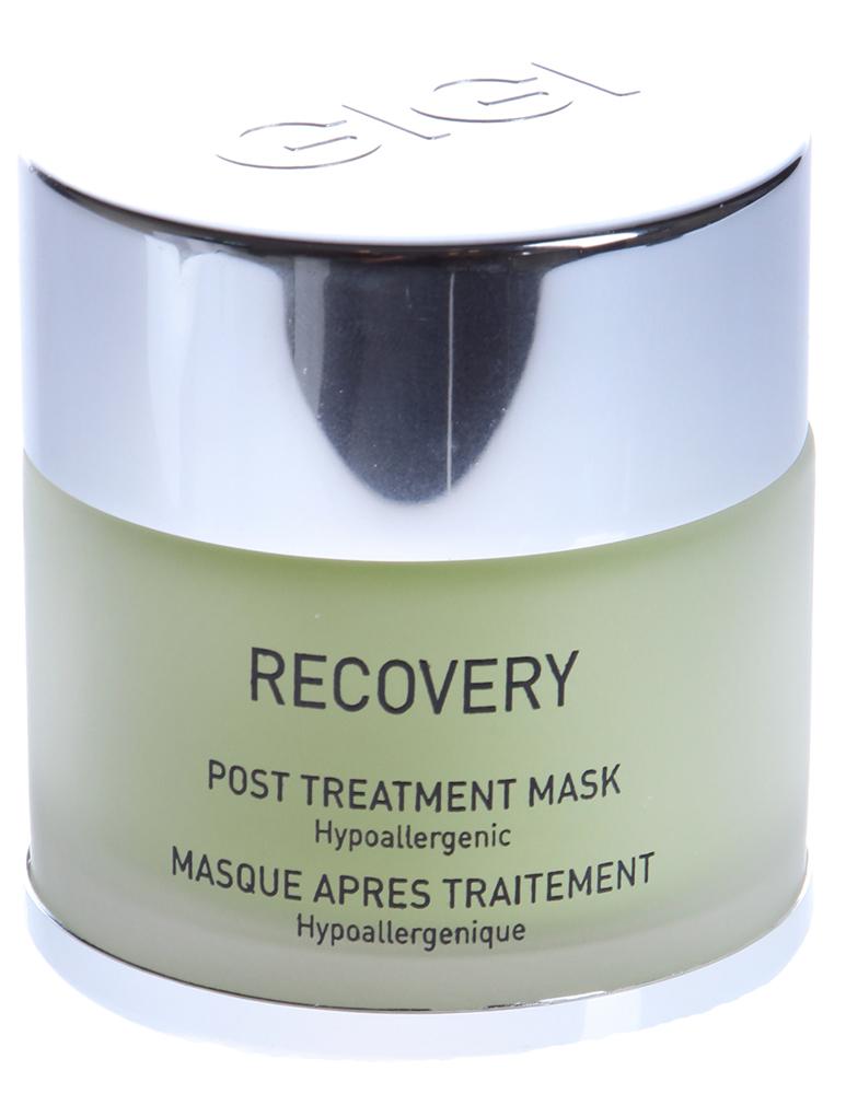 GIGI Маска регенерирующая / Post Treatment Mask RECOVERY 50млМаски<br>Лечебная восстанавливающая маска с богатой текстурой и высокой концентрацией увлажняющих, успокаивающих и противоаллергеных компонентов. Она повышает способность кожи к самовосстановлению, способствует регенерации клеток и быстрому заживлению. Маска также успокаивает раздражение, уменьшает покраснение и отек, обеспечивает ощущение мягкости кожи. Комплекс натуральных ингредиентов ускоряет рост клеток эпидермиса и синтез гиалуроновой кислоты. При регулярном применении ускоряет процесс регенерации и замедляет преждевременное старение, способствуя синтезу волокон коллагена, придает энергию стволовым клеткам, играющим большое значение в сохранении молодости кожи. Маска обеспечивает коже возможность нормального функционирования и самостоятельной реабилитации, препятствуя рубцеванию, благоприятно воздействует на кожу, продлевая результаты, полученные после профессионального лечения. Активные ингредиенты (состав): Water (Aqua), Glycerin, Petasites Japonicus Root Extract, Caprylic / Capric Triglyceride, Malus Domestica Fruit Cell Culture Extract, Saccharomyces Lysate Extract, Gluconolactone, Carbomer, Bisabolol, Sodium Hydroxide, Sodium Acrylate/Sodium Acryloyldimethyl Taurate Copolymer, Sodium Benzoate, Dipotassium Glycyrrhizate, Fragrance (Parfum(, Hydrogenated, Polydecene, Sorbitan Laurate, Methylsilanol Hydroxyproline Aspartate, Trideceth-6, Hyaluronic Acid, Lecithin,Red 504 CI 14700, Blue 1 CI 42090. Способ применения: нанести на лицо толстый слой маски на 15-20 минут, удалить с помощью влажных компрессов или смыть прохладной водой. Для усиления действия маски, рекомендуется нанести с начала сыворотку Recovery. При использовании маски в вечернее время суток, можно удалить остатки с помощью сухих салфеток, не смывая водой.<br><br>Вид средства для лица: Восстанавливающий<br>Класс косметики: Лечебная<br>Типы кожи: Чувствительная