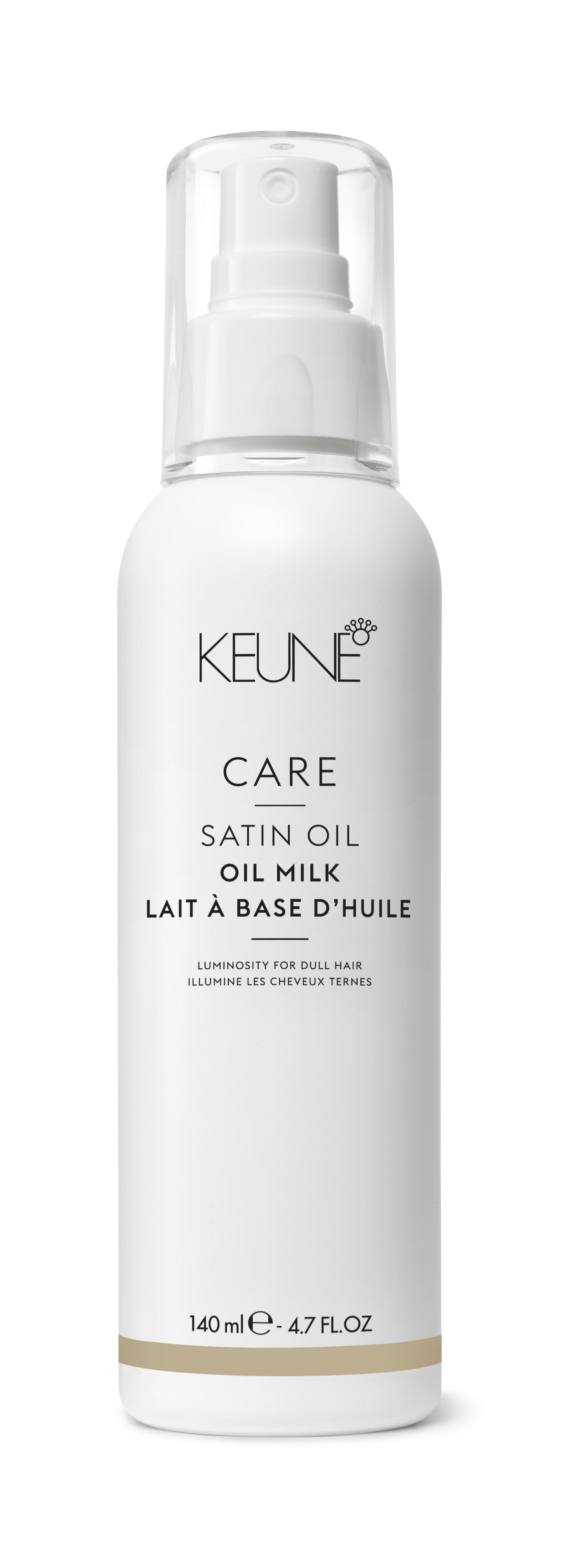 KEUNE Масло-молочко для волос Шелковый уход/ CARE Satin Oil - Oil Milk 140млМолочко<br>Масло-молочко для волос Шелковый уход Кене обладает легчайшей текстурой, которая обеспечивает моментальное впитывание. Уникальная формула с маслами и природными экстрактами наполняет волосы влагой, не утяжеляя их. Локоны приобретают мягкость восхитительное сияние. Активные ингредиенты: вода, природные минералы цинк, медь, железо, кремний, магний, масло маракуйи, масло баобаба, масло маной Способ применения: наносите масло-молочко Keune Care Satin Oil на чистые влажные или сухие волосы.<br><br>Типы волос: Для всех типов