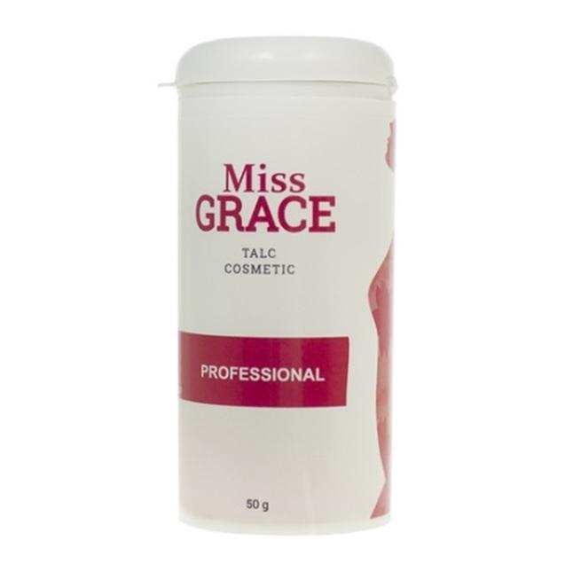 MISS GRACE Тальк косметический для депиляции Miss Grace Professional 50 г