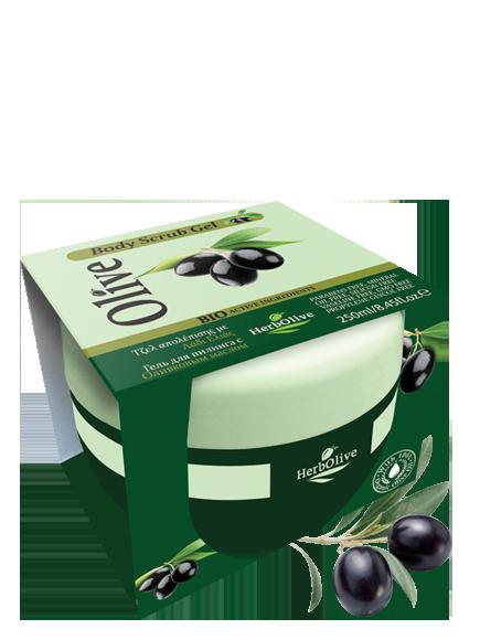 MADIS Гель-скраб для тела с оливковым маслом / HerbOlive 250 мл