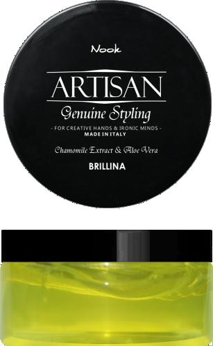 NOOK Воск-блеск для укладки волос / Brillina Glossy Shining Wax ARTISAN 100 мл