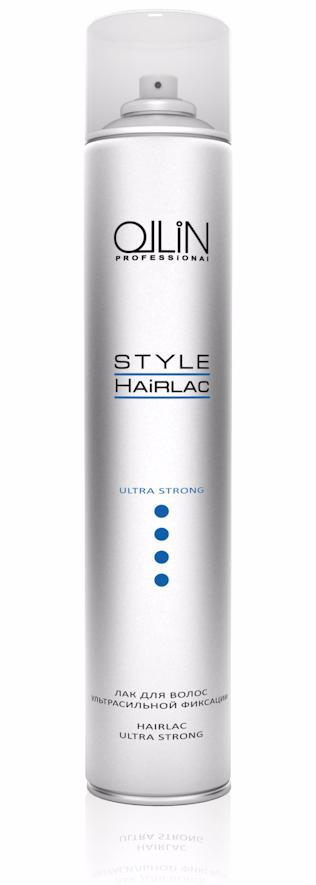 OLLIN PROFESSIONAL ��� ��� ����� ������������� �������� / Ultra Strong Hairspray STYLE 400��