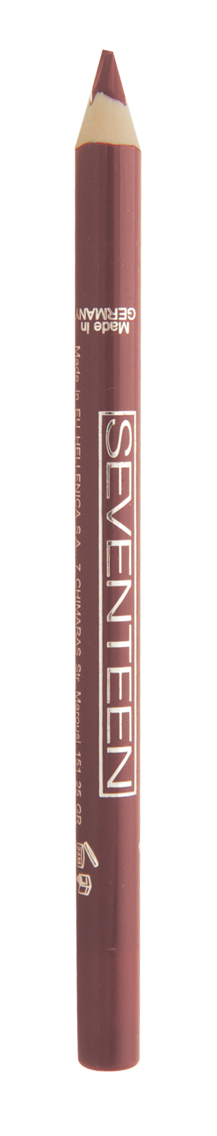 SEVENTEEN Карандаш водостойкий с витамином Е для губ, 02 розовый / Super Smooth W/P Lip Liner 1,2 г