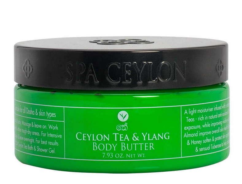 SPA CEYLON Баттер ультрапитательный для тела Цейлонский чай и иланг-иланг 225 г