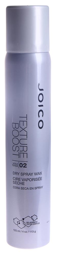 JOICO Спрей-воск сухой (фиксация 2) / STYLE &amp; FINISH 125млВоски<br>Придает волосам устойчивую эластичную текстуру и невероятный блеск. Идеален для создания небрежных укладок. Способ применения: разотрите между ладонями небольшое количество продукта, нанесите на подсушенные полотенцем волосы, распределяя средство по всей длине волос, точечно нанесите на кончики для выделения деталей (или более сильной фиксации).<br><br>Консистенция: Сухая