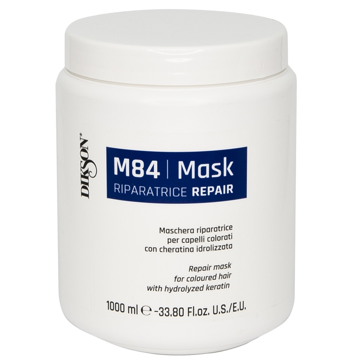 Купить DIKSON Маска восстанавливающая для окрашенных волос с гидролизированным кератином / MASK R REPAIR M84 1000 мл