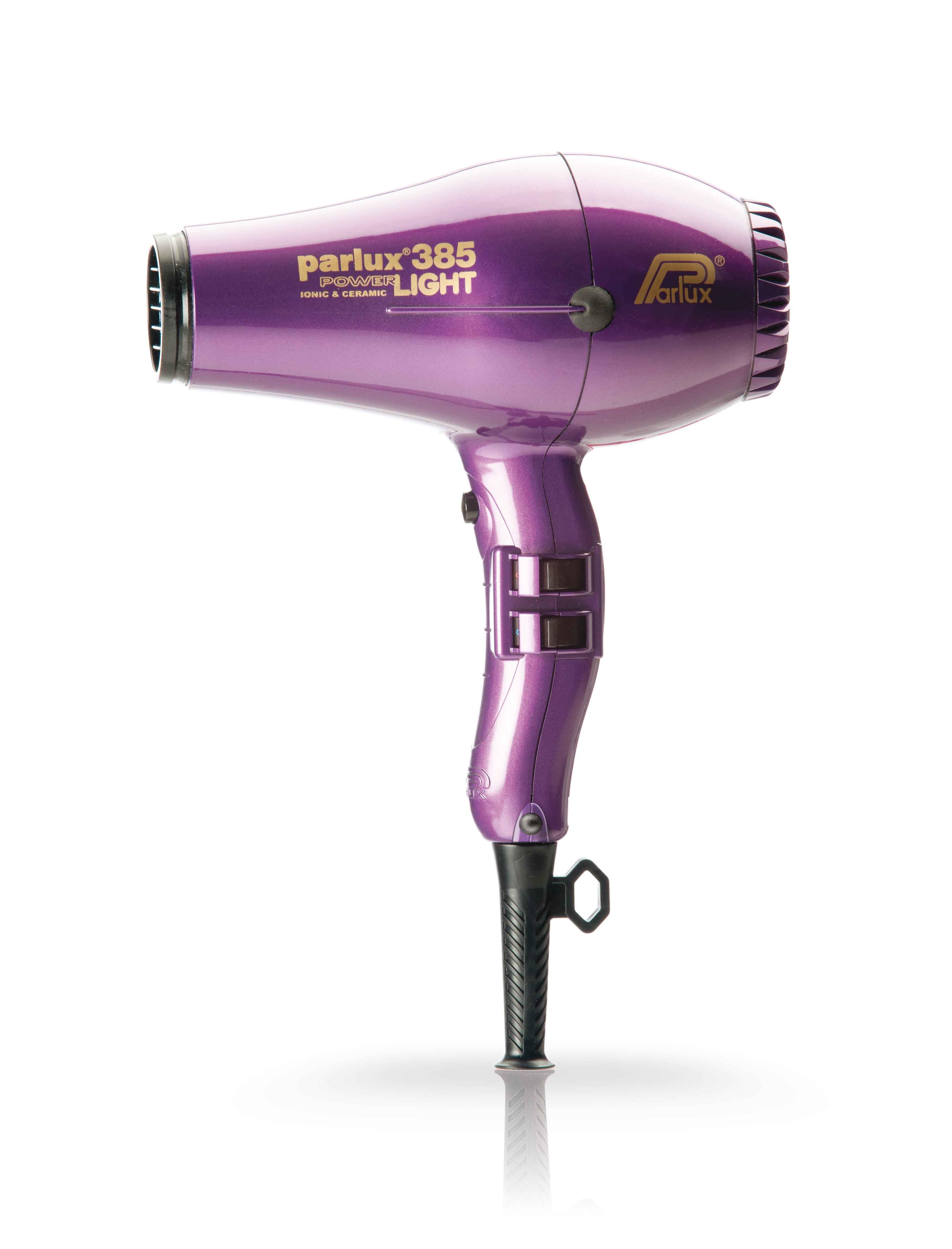 Купить PARLUX Фен Parlux 385 Power Light фиолетовый, ионизация, 2 насадки 2150 Вт
