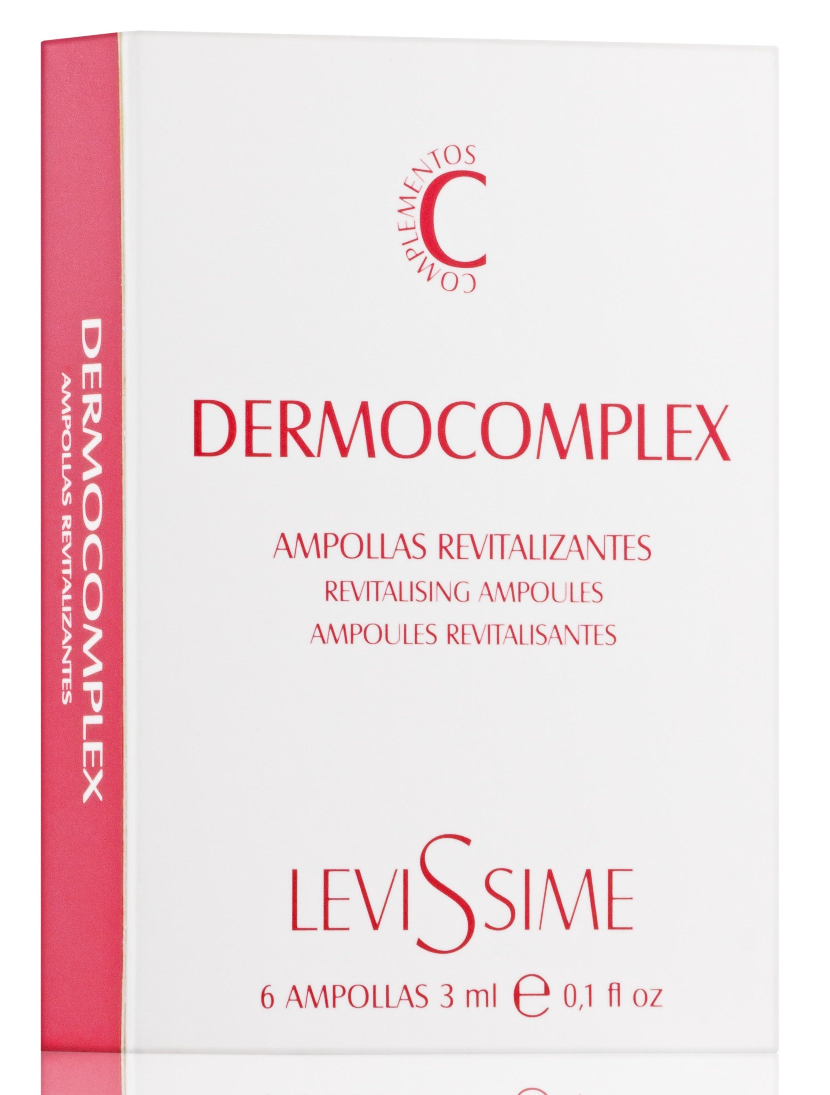 LEVISSIME Комплекс гармонизирующий / Dermocomplex 6*3 мл - Ампулы