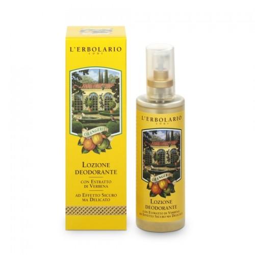 LERBOLARIO Лосьон-дезодорант Оранжерея 100 мл~Дезодоранты<br>Это средство надежно устранит неприятные последствия потоотделения, не нарушая естественную флору кожи. Активные ингредиенты: экстракт вербены.<br>