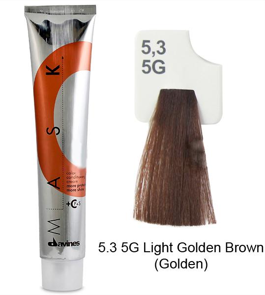 DAVINES SPA 5.3 крем-краска для волос / MASK 100мл от Галерея Косметики