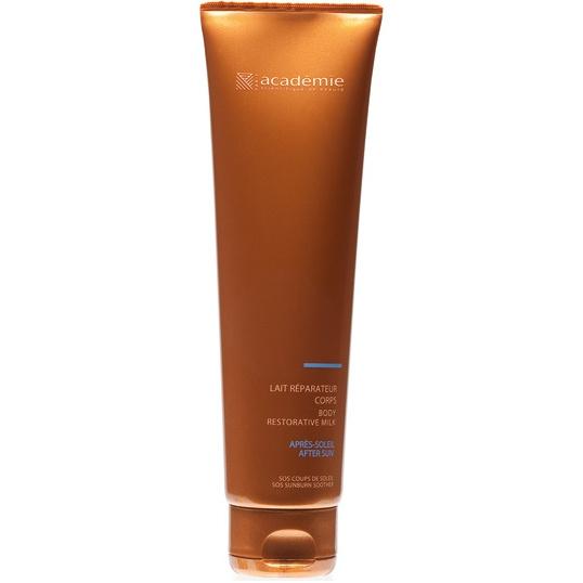 ACADEMIE Молочко успокаивающее для тела / BRONZECRAN 150мл~Молочко<br>Средство успокаивает кожу, которая получила солнечные ожоги. Обладает увлажняющим, восстанавливающим и освежающим действием. Снимает болевые ощущение и чувство жара на коже. Формирует красивый и ровных загар. Результат: Кожа, пострадавшая от негативного влияния солнца восстановлена.&amp;nbsp; Способ применения:&amp;nbsp;нанести крем на кожу тела после принятия солнечных ванн и особенно при получении солнечного ожога.<br><br>Объем: 150 мл<br>Вид средства для тела: Увлажняющий