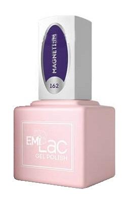 Купить E.MI 162 FQ гель-лак для ногтей, Магнетизм / E.MiLac 6 мл, Фиолетовые