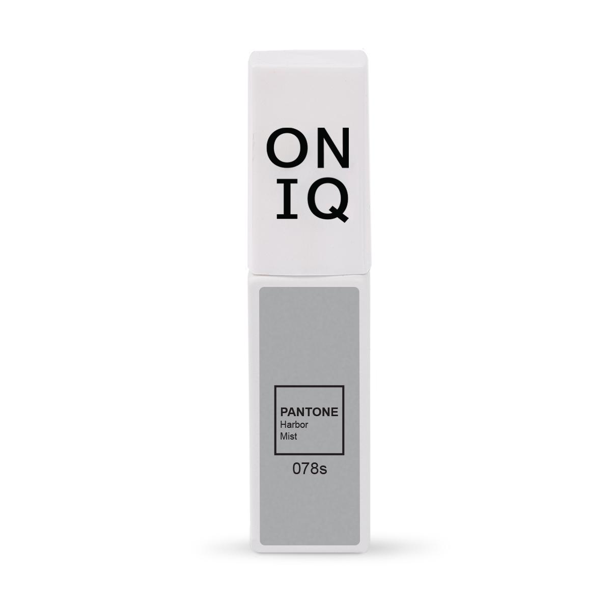 ONIQ Гель-лак для покрытия ногтей, Pantone: Harbor mist, 6 мл -  Гель-лаки