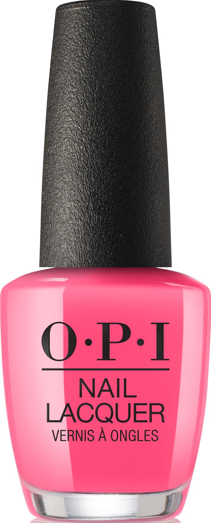 Купить OPI Лак для ногтей NLN72 / V-I-Pink Passes Neons Collection 15 мл, Розовые