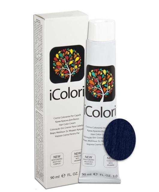 KAYPRO 1.10 краска для волос, иссиня-черный / ICOLORI 90мл