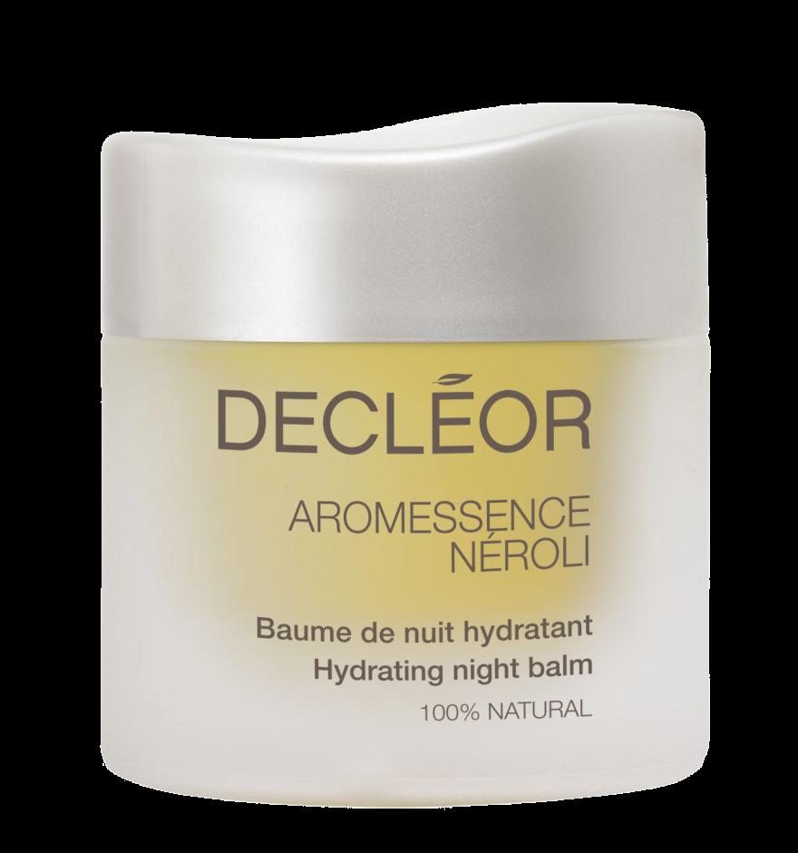 DECLEOR Бальзам увлажняющий ночной Нероли / HYDRA FLORAL NEROLI 15млБальзамы<br>Подходит для всех типов кожи. 100% натуральный увлажняющий ночной ароматический бальзам успокаивает и смягчает кожу, улучшает ее текстуру, придает сияние, выравнивает тон кожи, и делает её более чистой. Обладает антисептическим, заживляющим действием, регулирует микроциркуляцию, насыщает кожу кислородом. Без консервантов, без минеральных масел, без красителей. РЕЗУЛЬТАТ: питает, смягчает и успокаивает, препятствует обезвоживанию, защищает от свободных радикалов. Утром кожа более гладкая и полна энергии, выглядит сияющей и отдохнувшей. Способ применения: горошину бальзама разогрейте в ладонях, вдохните аромат и нанесите на лицо, шею и декольте легкими помпажными движениями. Подходит для всех типов кожи в качестве антивозрастного средства и профилактики старения кожи.<br><br>Объем: 15 мл