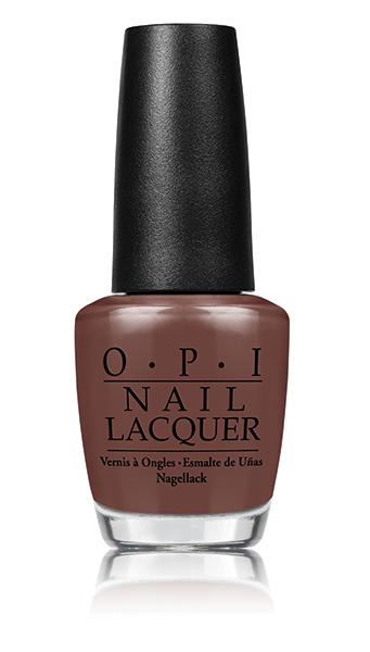 OPI Лак для ногтей Squeaker Of The House / Washington DC 15млЛаки<br>Молочный шоколад, плотный глянец<br><br>Цвет: Коричневые<br>Виды лака: Глянцевые