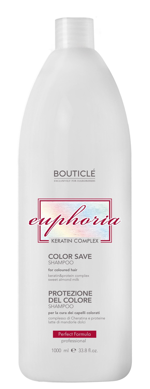 BOUTICLE Шампунь для окрашенных волос с Keratin & Protein Complex / Color Save Shampoo 1000 мл