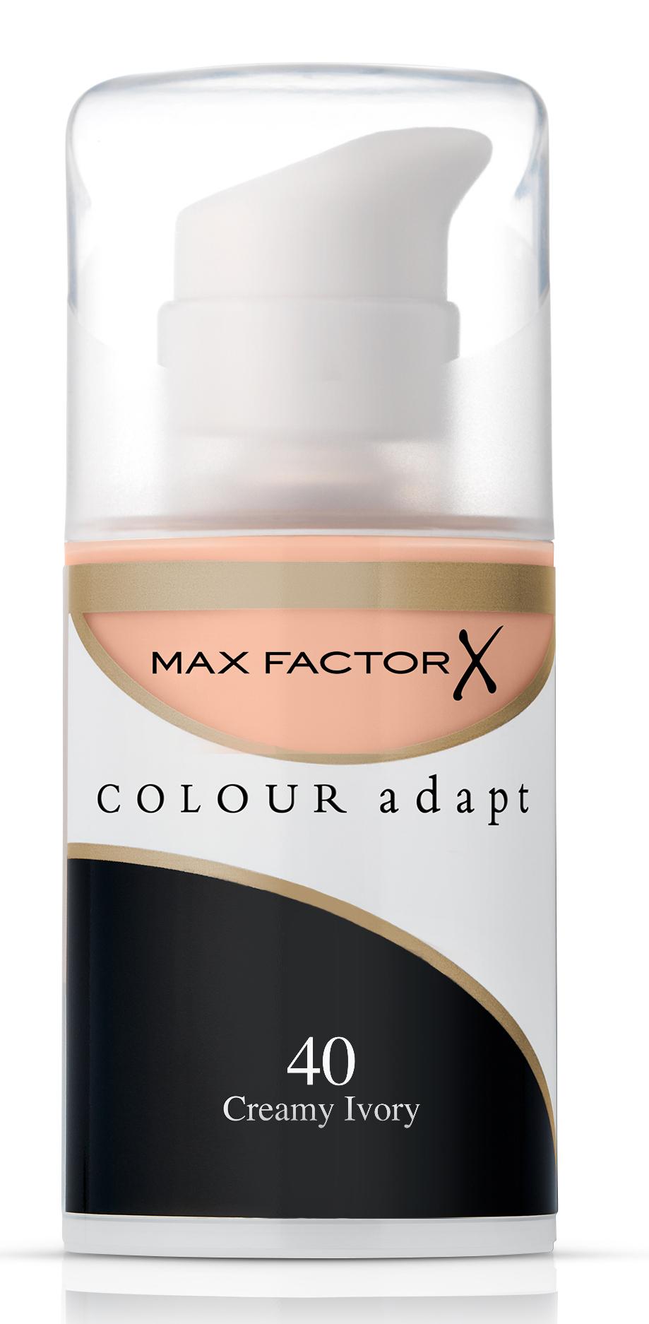 MAX FACTOR Крем тональный 40 / Colour Adapt - Тональные основы