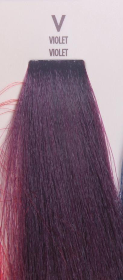 MACADAMIA Natural Oil V краска для волос фиолетовый / MACADAMIA COLORS 100млКраски<br>Профессиональный кремообразный краситель на основе масла макадамии сохраняет волосы здоровыми, живыми, мягкими и блестящими. Уникальная и хорошо продуманная формула красителя обеспечивает четкие, предсказуемые, последовательные и стойкие результаты. Основа красителя - масла макадамии и арганы, которые проникают в структуру волос для сохранения целостности структуры, восстановления и укрепления. Комбинация всех ингредиентов красителя создает яркие, роскошные оттенки с потрясающей стойкостью. Все цвета можно смешивать между собой, создавая бесконечное множество оттенков. С этим красителем каждый стилист может выйти за рамки повседневности, позволяя своему воображению воплощать в жизнь любые творческие идеи. Преимущества: Прост в применении Удобен в работе как для начинающего мастера, так и для опытного стилистаУникальная и хорошо продуманная формула красителя обеспечивает чёткие и предсказуемые результаты окрашиванияЭкономичен в работе Пропорция смешивания красителя с окислителем от 1 к 1.5 до 2.5 позволяют сократить расход красителя на каждого клиентаУвеличенная стойкость цвета Благодаря уменьшенному размеру, пигменты и масла способны более глубоко проникать в кортекс волоса и удерживаться там на более длительный срокВходящие в состав масла, служат проводником пигментов в кортекс волосаМногообразие оттенков Богатая палитра из 92 оттенковМножество модных и актуальных оттенков, таких как нейтрально-коричневый, бежевый, шоколадно-коричневые и т.д. Создание цвета и СПА уход в одном флаконе Результат окрашивания   стойкие, красивые и насыщенные оттенки. Уникальная комбинация пигментов и масел дополнительно увлажняет волосы и позволяет минимизировать вред, наносимый окрашиванием. Активные ингредиенты: масло макадамии, масло арганы.<br><br>Класс косметики: Профессиональная