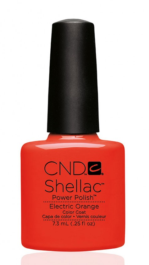 CND 90514 покрытие гелевое Electric Orange / SHELLAC 7,3мл