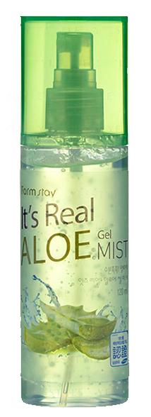 FARMSTAY Гель-спрей с экстрактом алоэ для лица / It is real 120 мл