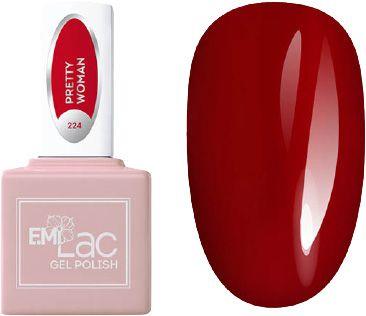E.MI 224 RM гель-лак для ногтей, Красотка / E.MiLac 6 мл