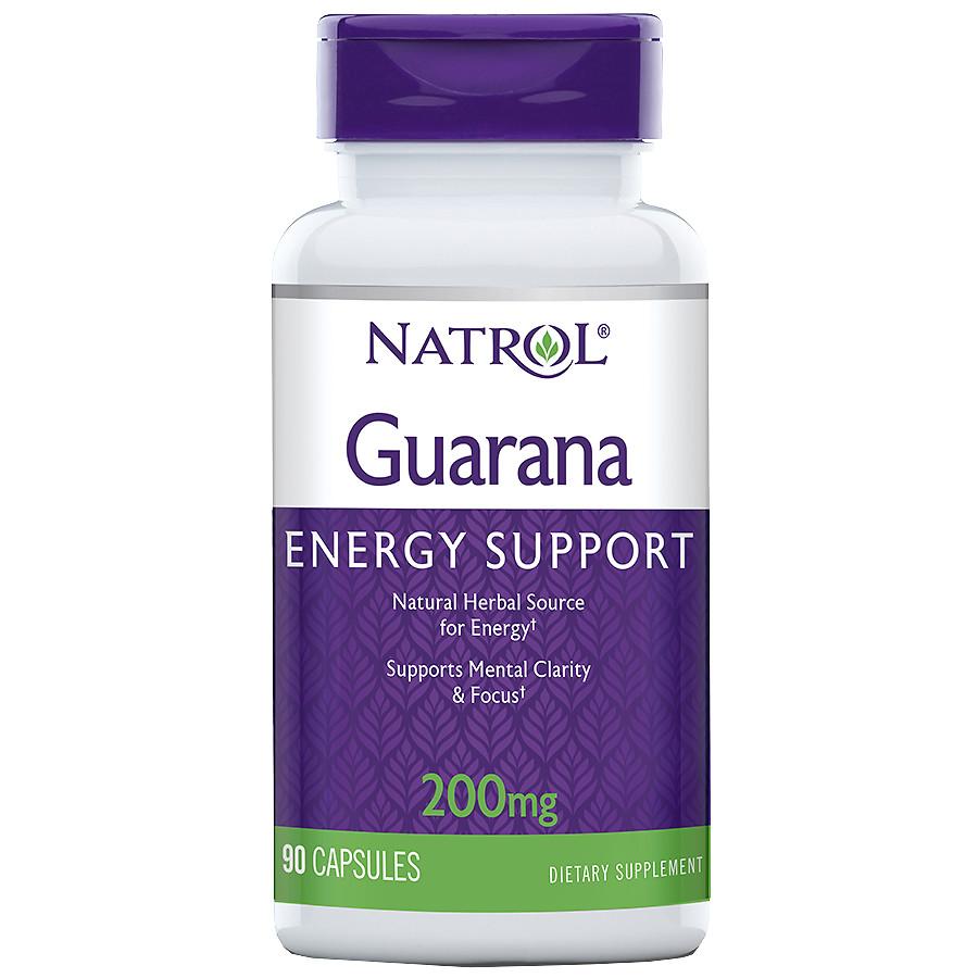 Купить NATROL Добавка биологически активная к пище Натрол гуарана / Guarana 200 мг 90 капсул