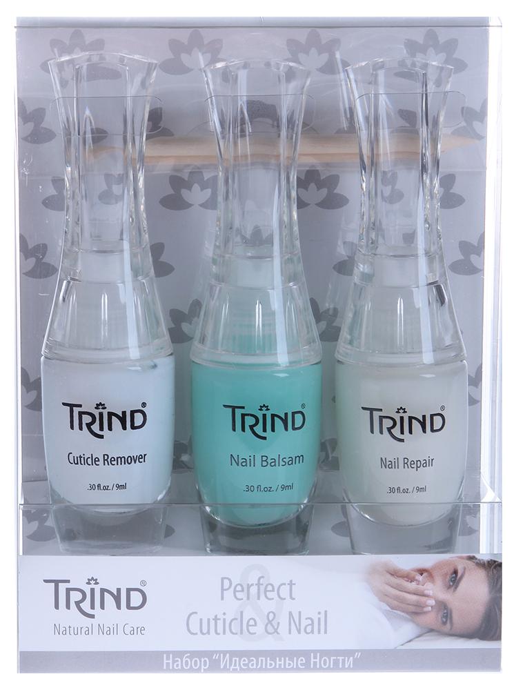"""TRIND Набор """"Perfect Cuticles&Nail Set"""" / Cuticle Remover+Nail Balsam+Nail Repair"""