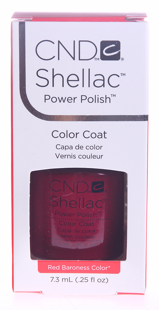 CND 009 покрытие гелевое Red Baroness / SHELLAC 7,3мл