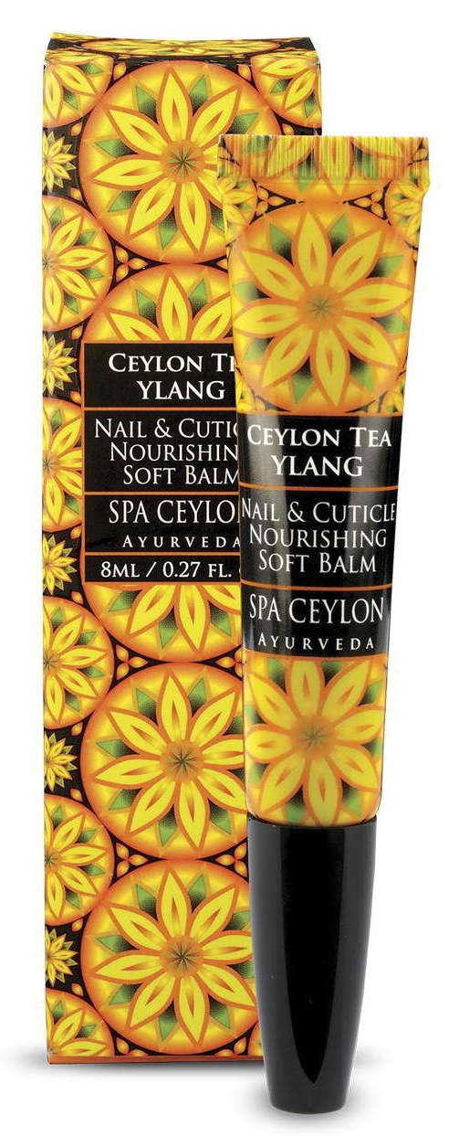 SPA CEYLON Бальзам смягчающий для ногтей и кутикулы Цейлонский чай и иланг-иланг 8 мл