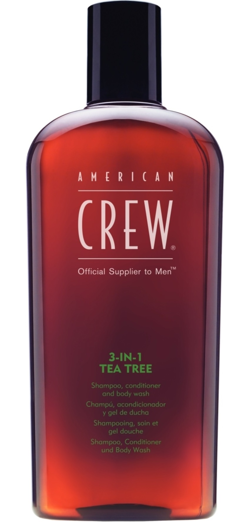AMERICAN CREW Средство для волос 3 в 1 чайное дерево, для мужчин 450 мл