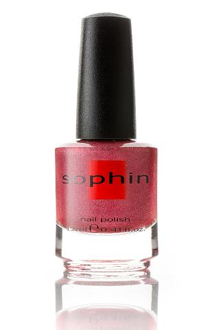 SOPHIN Лак для ногтей, голографический кораллово-розовый 12млЛаки<br>Коллекция лаков SOPHIN очень разнообразна и соответствует современным веяньям моды. Огромное количество цветов и оттенков дает возможность создать законченный образ на любой вкус. Удобный колпачок не скользит в руках, что облегчает и позволяет контролировать процесс нанесения лака. Флакон очень эргономичен, лак легко стекает по стенкам сосуда во внутреннюю чашу, что позволяет расходовать его полностью. И что самое главное - форма флакона позволяет сохранять однородность лаков с блестками, глиттером, перламутром. Кисть средней жесткости из натурального волоса обеспечивает легкое, ровное и гладкое нанесение. Big5free! Активные ингредиенты. Состав: ethyl acetate, butyl acetate, nitrocellulose, acetyl tributyl citrate, isopropyl alcohol, adipic acid/neopentyl glycol/trimellitic anhydride copolymer, stearalkonium bentonite, n-butyl alcohol, styrene/acrylates copolymer, silica, benzophenone-1, trimethylpentanedyl dibenzoate, polyvinyl butyral.<br><br>Цвет: Розовые