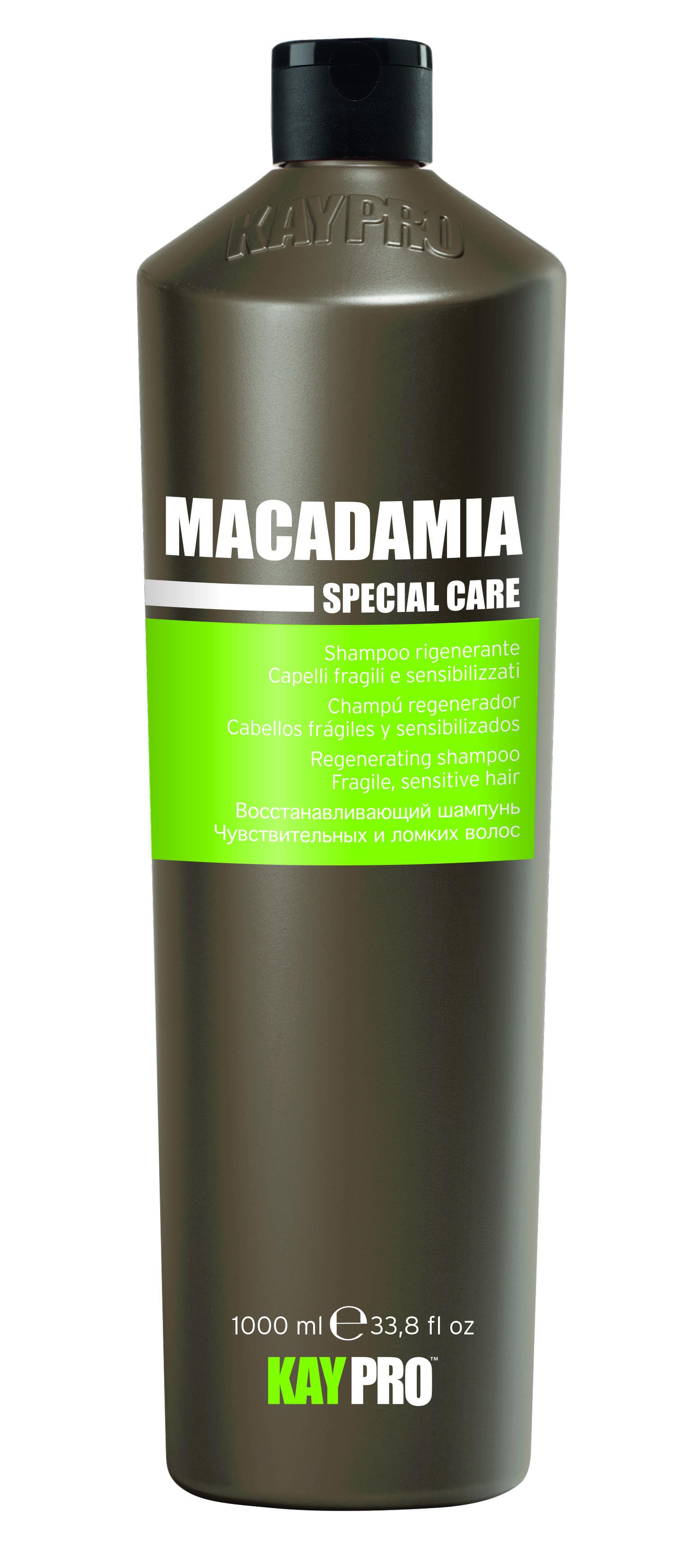 Купить KAYPRO Шампунь восстанавливающий с маслом макадами 1000 мл