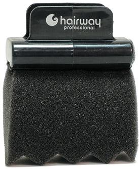 HAIRWAY Губка Hairway с пластиковым держателем д/химии