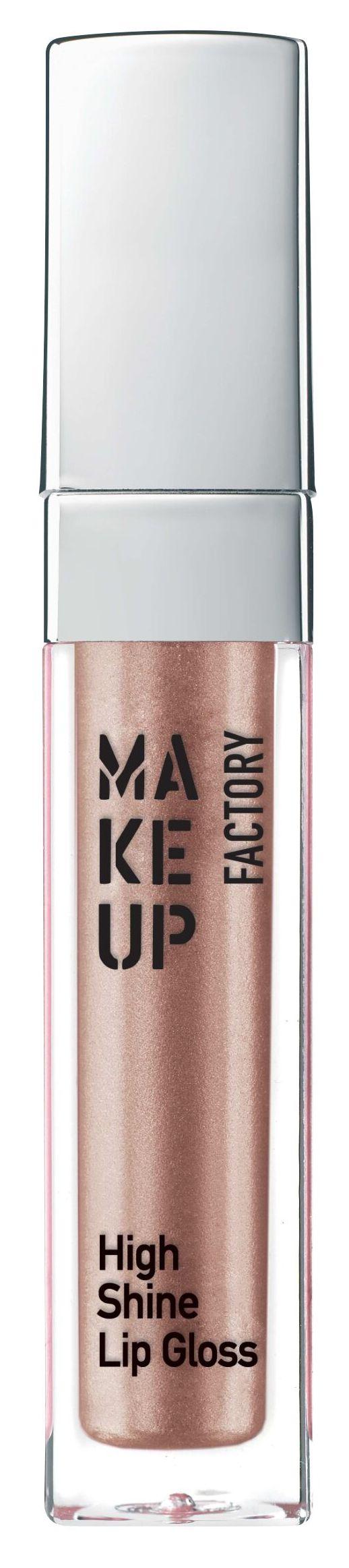 MAKE UP FACTORY Блеск с эффектом влажных губ, 14 радужное мерцание / High Shine Lip Gloss 6,5 мл фото