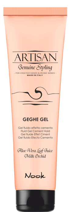 NOOK Гель-цемент для укладки волос / Geghe Gel Shining Gel Cement ARTISAN 150 мл nook artisan gel ginfix compact modelling gel гель для укладки волос моделирующий 150 мл