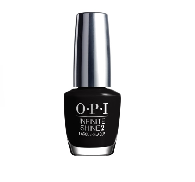 OPI Лак для ногтей / We're in the Black Infinite Shine 15 мл opi лак для ногтей raisin the bar infinite shine 15мл