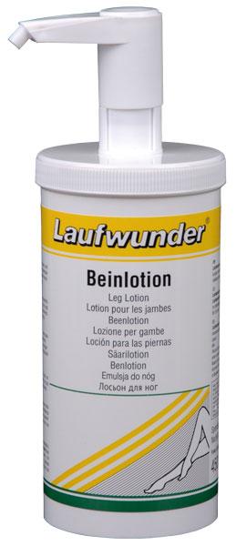 LAUFWUNDER Лосьон для ног с коллагеном (с дозатором) 450млЛосьоны<br>Интенсивно увлажняет, повышает упругость и эластичность кожи. Снимает чувство усталости, отечности. Прекрасное средство для ежедневного ухода быстро впитывается и не оставляет жирной пленки на коже. Состав: экстракт китайского самшита, Алоэ Барбадосского, коллаген.<br><br>Объем: 450