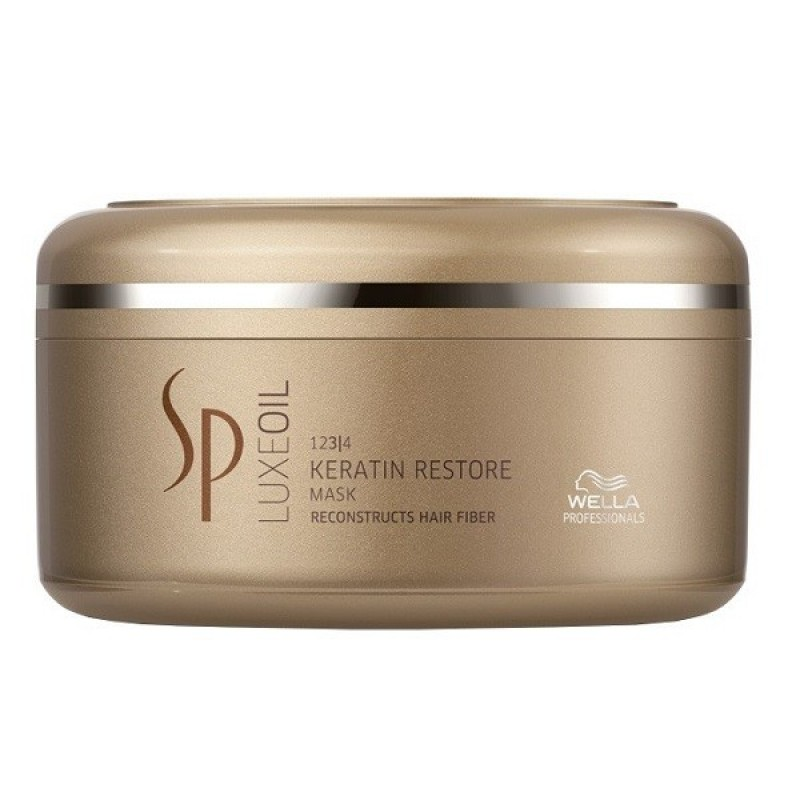 WELLA SP Маска с кератином для восстановления волос / Sp LuxeOil 150 мл