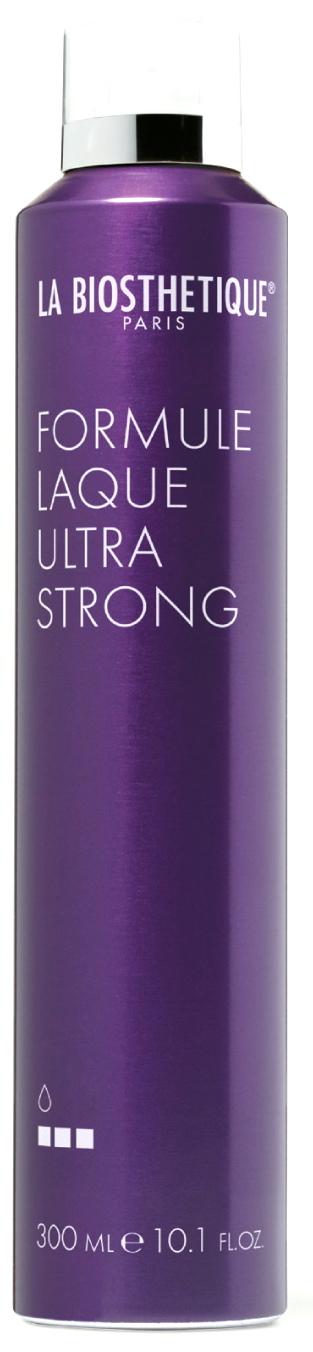 LA BIOSTHETIQUE Лак аэрозольный экстрасильной фиксации для волос / Formule Laque Ultra Strong FINISH 300 мл la biosthetique моделирующий лак для волос сильной фиксации molding spray 300 мл