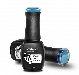 RuNail Гель-лак Голубой океан / Laque 12мл runail дизайн для ногтей слюда 0336