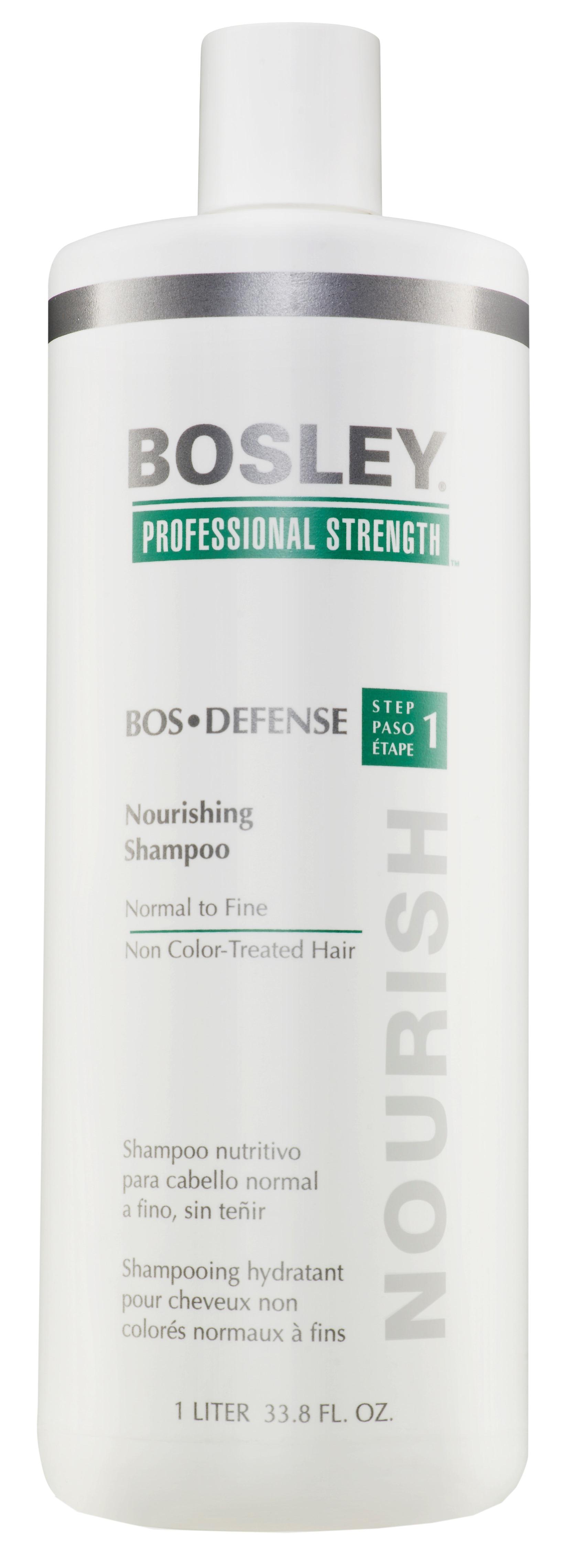BOSLEY Шампунь питательный для нормальных/тонких неокрашенных волос / ВОS DEFENSE (step 1) 1000мл недорого