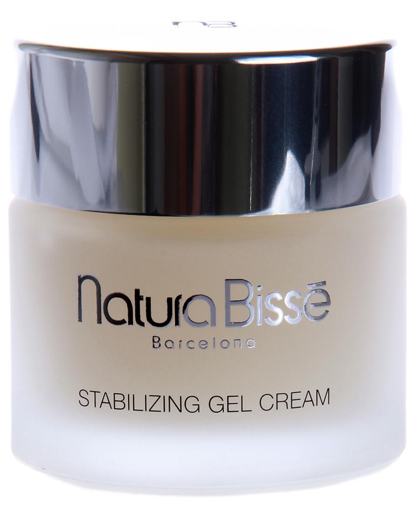 NATURA BISSE Гель-крем стабилизирующий / Gel Cream STABILIZING 75млКремы<br>Stabilizing Gel Cream регулирует продукцию кожного сала и бережно ухаживает за жирной кожей, склонной к образованию угрей. Препарат содержит натуральные свободные аминокислоты белка кератина, в состав которых в большом количестве входит органическая сера, что позволяет корригировать продукцию кожного сала и препятствовать возникновению акне. При этом не происходит нарушения процесса гидратации кожи. Витамины А, С и Е, входящие в состав гель-крема, нейтрализуют свободные радикалы, предотвращая тем самым появление признаков преждевременного старения. Витамин В способствует регенерации кожи. Экстракт алоэ и аллантоин обладают выраженным противовоспалительным эффектом. Обладает очищающим и антибактериальным действием. Обладает антиоксидантным и репаративным эффектом. Активные ингредиенты (состав): Water (Aqua), Propylene Glycol, Alcohol Denat., Distarch Phosphate, Triethanolamine, Carbomer, PEG-6 Caprylic/Capric Glycerides, PEG-40 Hydrogenated CastorOil, Salix Alba (Willow) Bark Extract, Arctium Majus Root Extract, Rosmarinus Officinalis (Rosemary) Leaf Extract, Glycine Soja (Soybean) Germ Extract, Aloe Barbadensis Leaf Extract, Silybum Marianum Extract, Triticum Vulgare (Wheat) Germ Extract, Hydrolyzed Keratin, Urea, C12-20 Acid PEG-8 Ester, Lactic Acid, Sodium Lactate, Serine, Sorbitol, Sodium Chondroitin Sulfate, Cetearyl Ethylhexanoate, Glyceryl Caprylate, Caprylic/Capric Triglyceride, Glycerin, Butylene Glycol, Pentylene Glycol, Sodium Chloride, PEG-60 Hydrogenated Castor Oil, Allantoin, Cetyl Phosphate, BHT, Tocopheryl Acetate, Retinol, Ascorbyl Palmitate, Ascorbic Acid, Sodium Benzoate, Citric Acid, Phenoxyethanol, Methylparaben, Ethylparaben, futylparaben, Propylparaben, Fragrance (Parfum), Limonene, Geraniol   Hydroxycitronellal, Linalool, Citronellol, Cinanamyl Alcohol, Citral, Benzyl Alcohol. Способ применения: наносить на предварительно очищенную кожу 1-2 раза в день при помощи легко