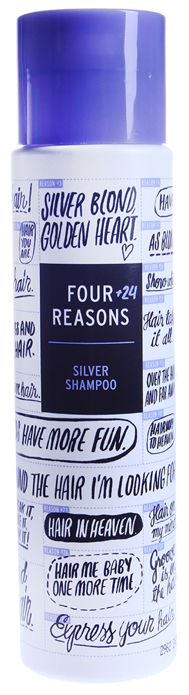 KC PROFESSIONAL ������� � ���������� �������� / Silver Shampoo FOUR REASONS 300��