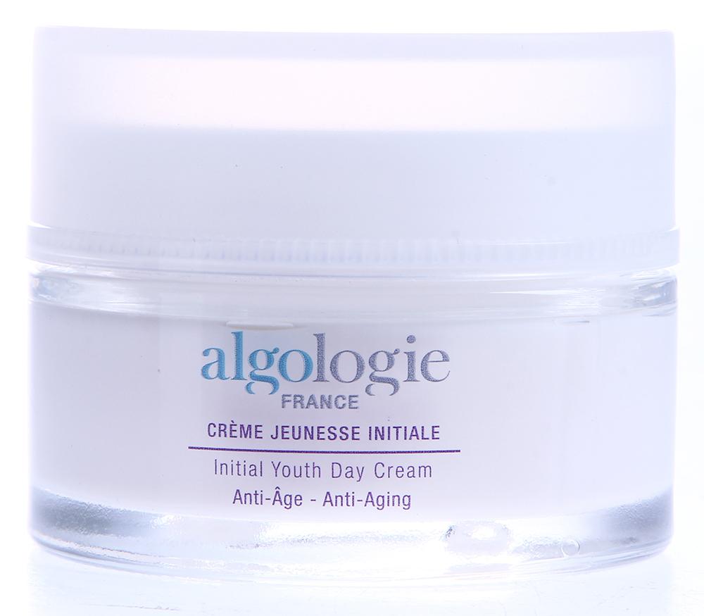 ALGOLOGIE Крем дневной Начало молодости 50млКремы<br>Этот уникальный крем разработан специально для использования в дневное время для всех типов кожи при появлении первых признаков увядания. Действие: Стволовые клетки морского критмума - чистейший запас жизненной энергии и силы, работают в комплексе с экстрактом бурой водоросли пельвеции и эксклюзивным комплексом Alog3, глубоко увлажняя и восстанавливая сияние кожи, предотвращая появление морщин и уменьшая уже имеющиеся морщины. Результаты: Защищенная и увлажненная кожа становится мягкой, сияющей, здоровой и обновленной.<br><br>Назначение: Морщины<br>Время применения: Дневной