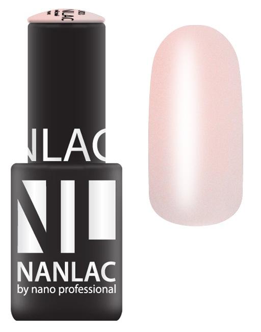 NANO PROFESSIONAL 1601 гель-лак для ногтей, романтическое путешествие / NANLAC 6 мл