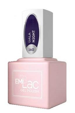 Купить E.MI 160 FQ гель-лак для ногтей, Гала-ночь / E.MiLac 6 мл, Фиолетовые
