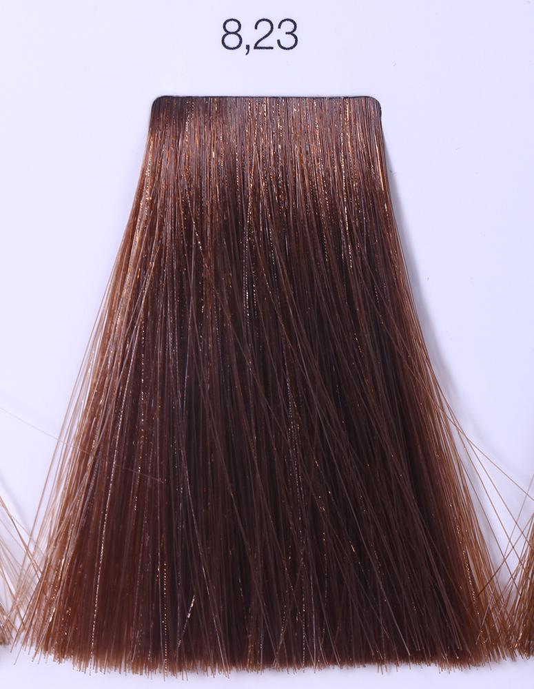 LOREAL PROFESSIONNEL 8.23 краска для волос / ИНОА ODS2 60грКраски<br>INOA - первый краситель, позволяющий достичь желаемых результатов окрашивания, окрашивать тон в тон, осветлять волосы на 3 тона, идеально закрашивает седину и при этом не повреждает структуру волос, поскольку не содержит аммиака. Получить стойкие, насыщенные цвета позволяет инновационная технология Oil Delivery System (ODS) система доставки красителя при помощи масла. Благодаря удивительному действию системы ODS при нанесении, смесь, обволакивая волос, как льющееся масло, проникает внутрь ткани волос, чтобы создать безупречный цвет. Уникальность системы ODS состоит также в ее умении обогащать структуру волоса активными защитными элементами, который предотвращает повреждения и потерю цвета.  После использования красителя окислением без аммиака Inoa 4.20 от LOreal Professionnel волосы приобретают однородный насыщенный цвет, выглядят идеально гладкими, блестящими и шелковистыми, как будто Вы сделали окрашивание и ламинирование за одну процедуру.  Способ применения: Приготовьте смесь из красителя Inoa ODS 2 и Оксидента Inoa ODS 2 в пропорции 1:1. Нанесите смесь на сухие или влажные волосы от корней к кончикам. Не добавляйте воду в смесь! Подержите краску на волосах 30 минут. Затем тщательно промойте волосы до получения чистой, неокрашенной воды.<br><br>Цвет: Корректоры и другие<br>Типы волос: Для всех типов